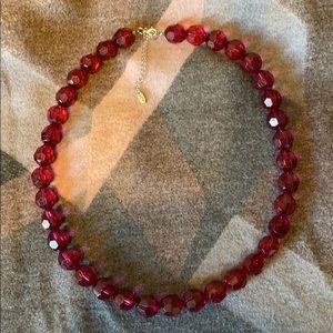 Jewelry - Gorgeous Garold C Miller Fuchsia Beaded Necklace
